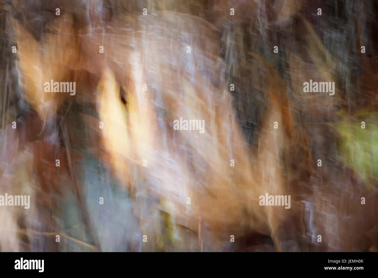 Blurred abstract water background - Stock Image