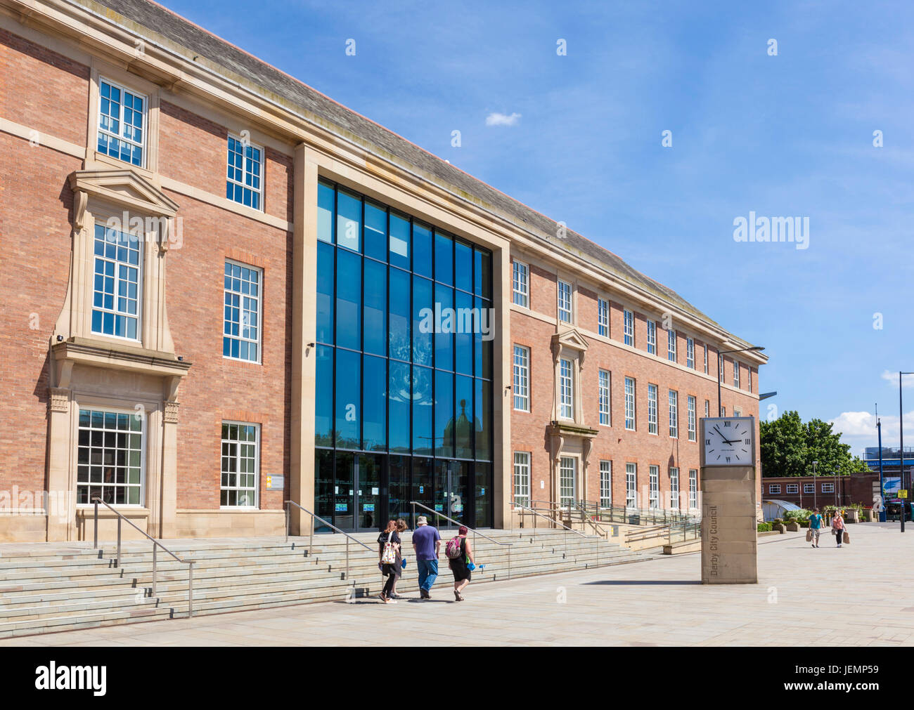 Derby council house Derby city centre Derbyshire England East midlands UK GB Europe - Stock Image