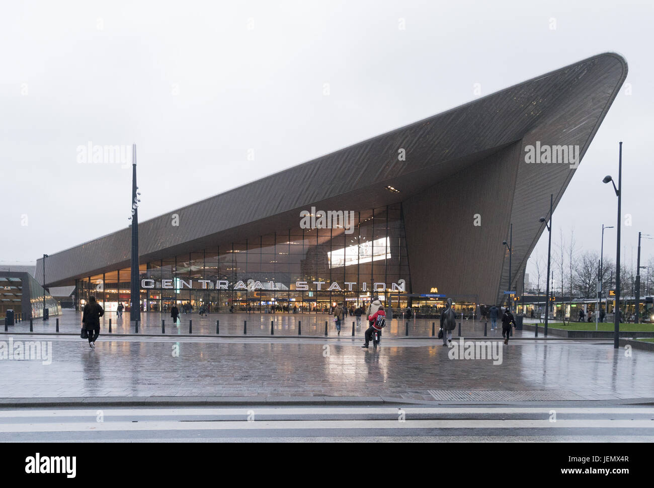 Centraalstation - Stock Image