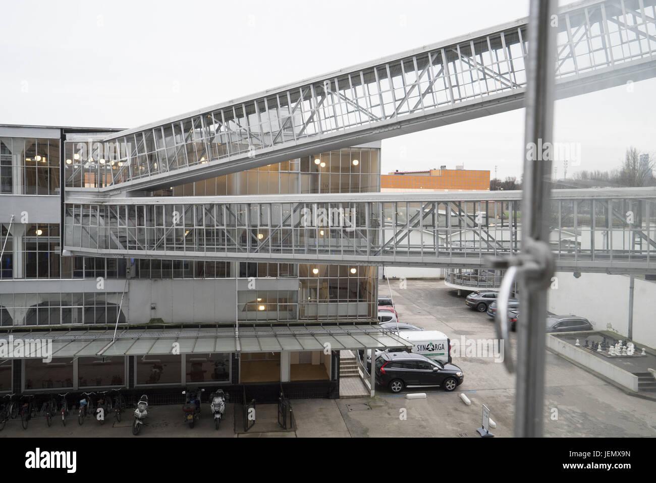 Weltkulturerbe Van Nelle Fabrik in Rotterdam - Stock Image