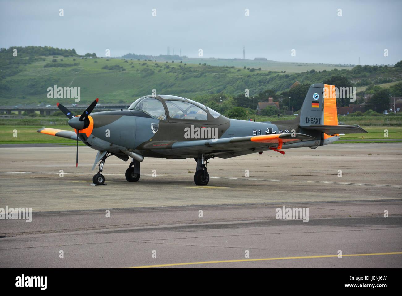 Piaggio P.149D built by Focke-Wulf - Stock Image