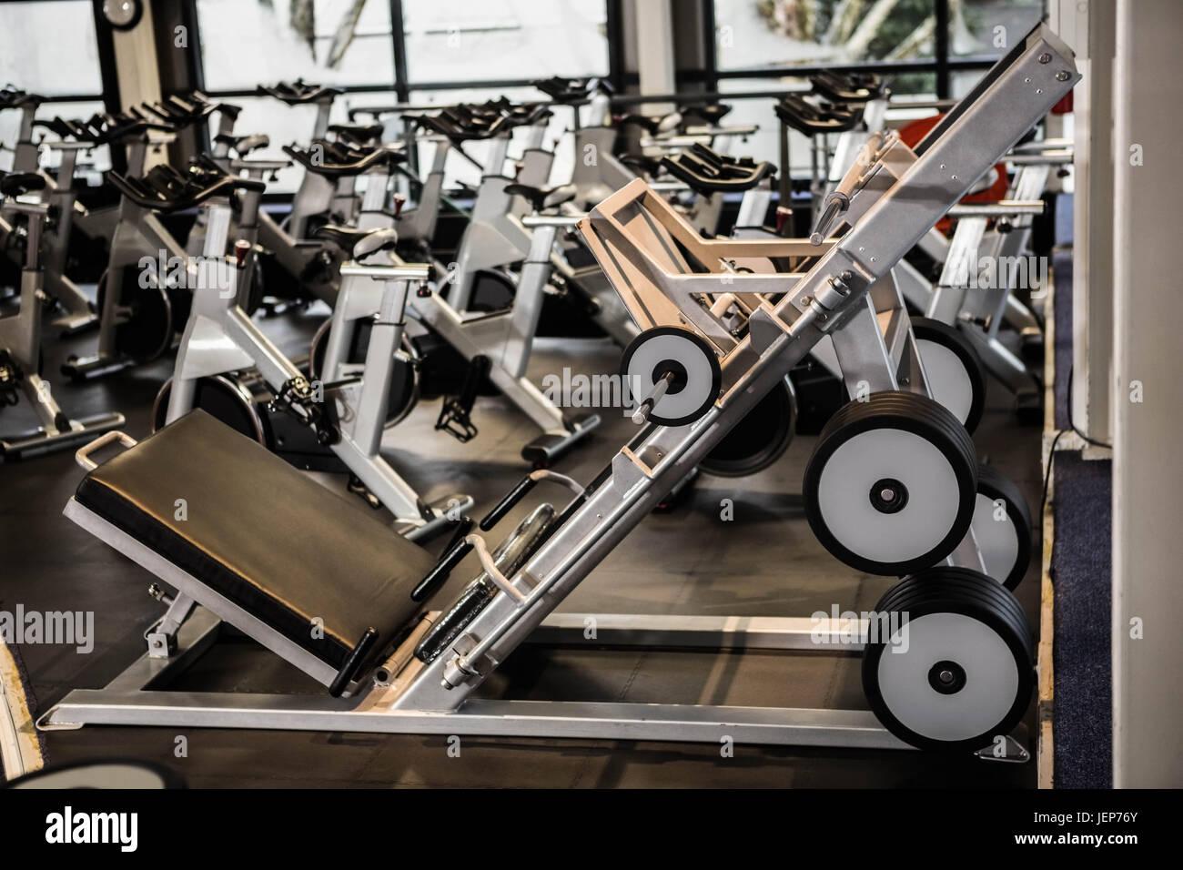 Exercise machines - Stock Image