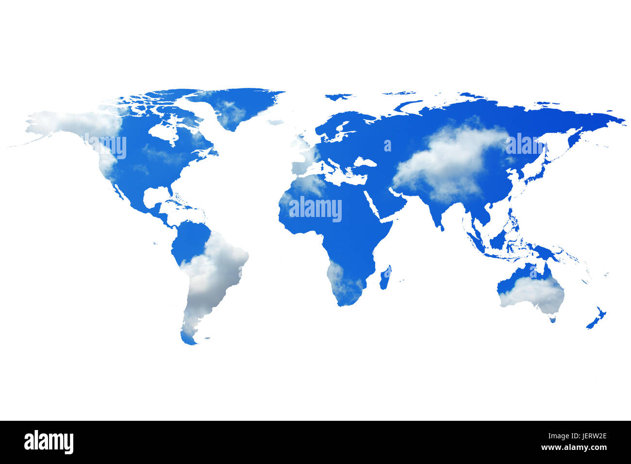 Conceptual image of flat world map and cloudy sky nasa flat world conceptual image of flat world map and cloudy sky nasa flat world map image used to furnish this image gumiabroncs Gallery