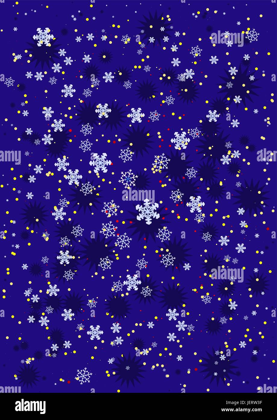 abstract, christmas, yule, flake, hairline crack, star, backdrop, background, - Stock Image