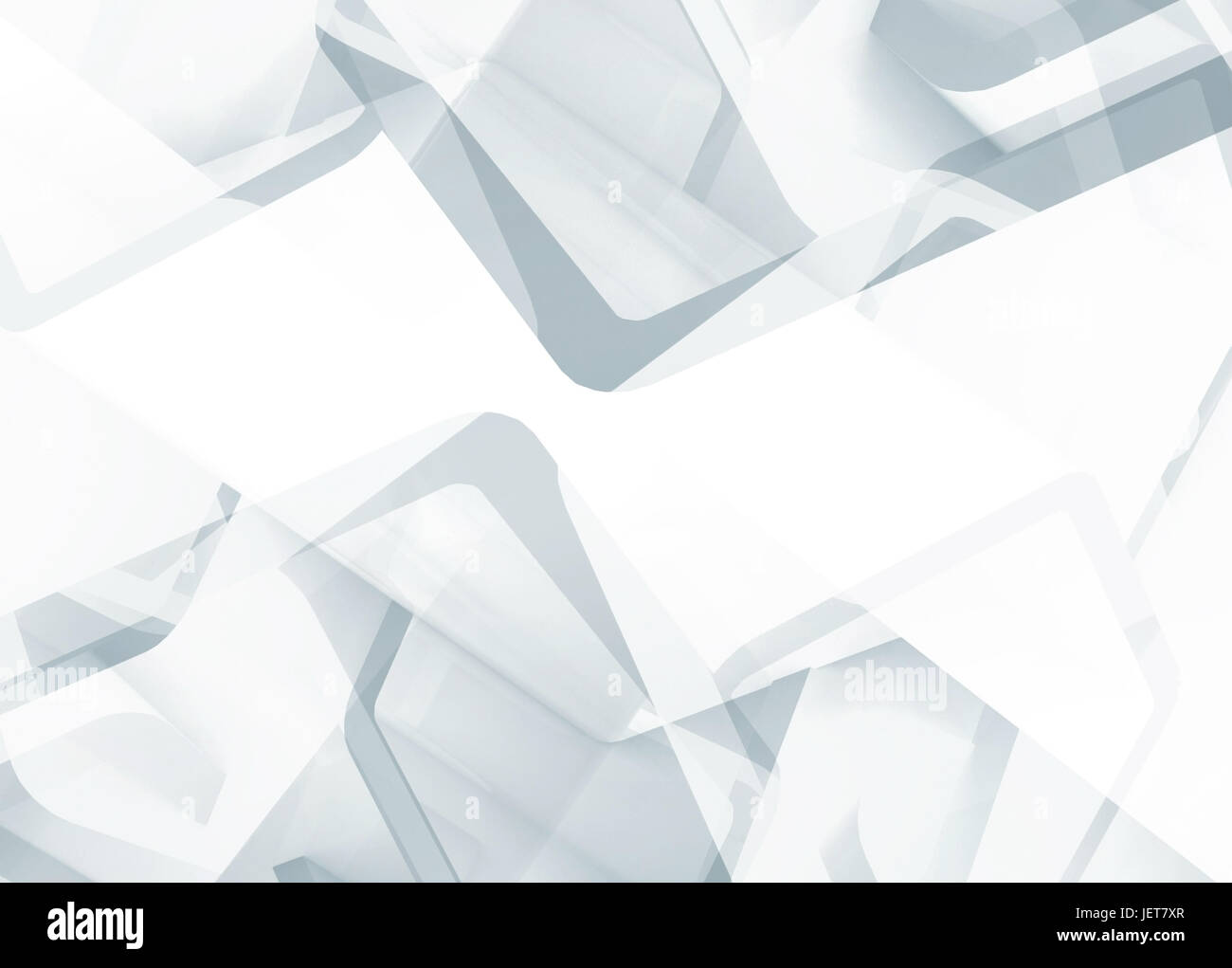 Abstract White Technology Background Useful As A Wallpaper Image 3d Render Illustration