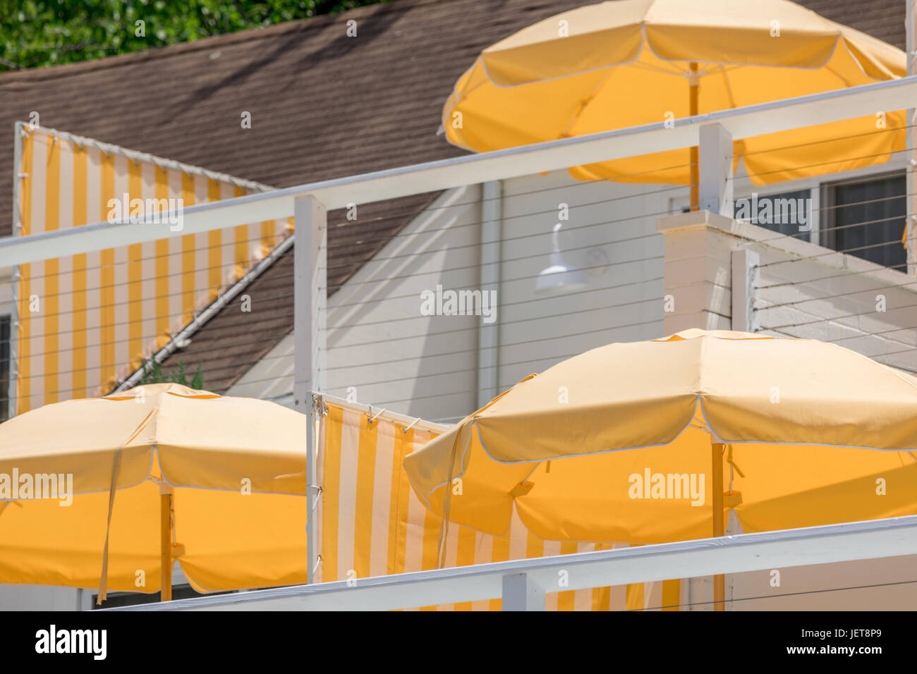 sunset beach resturant and hotel in Shelter Island, NY - Stock Image