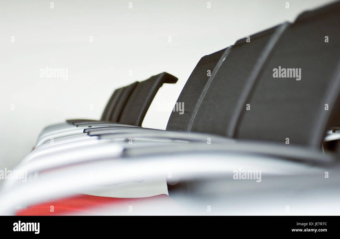 Chair rows in a conference space, Stuhlreihen in einem Konferenzraum - Stock Image