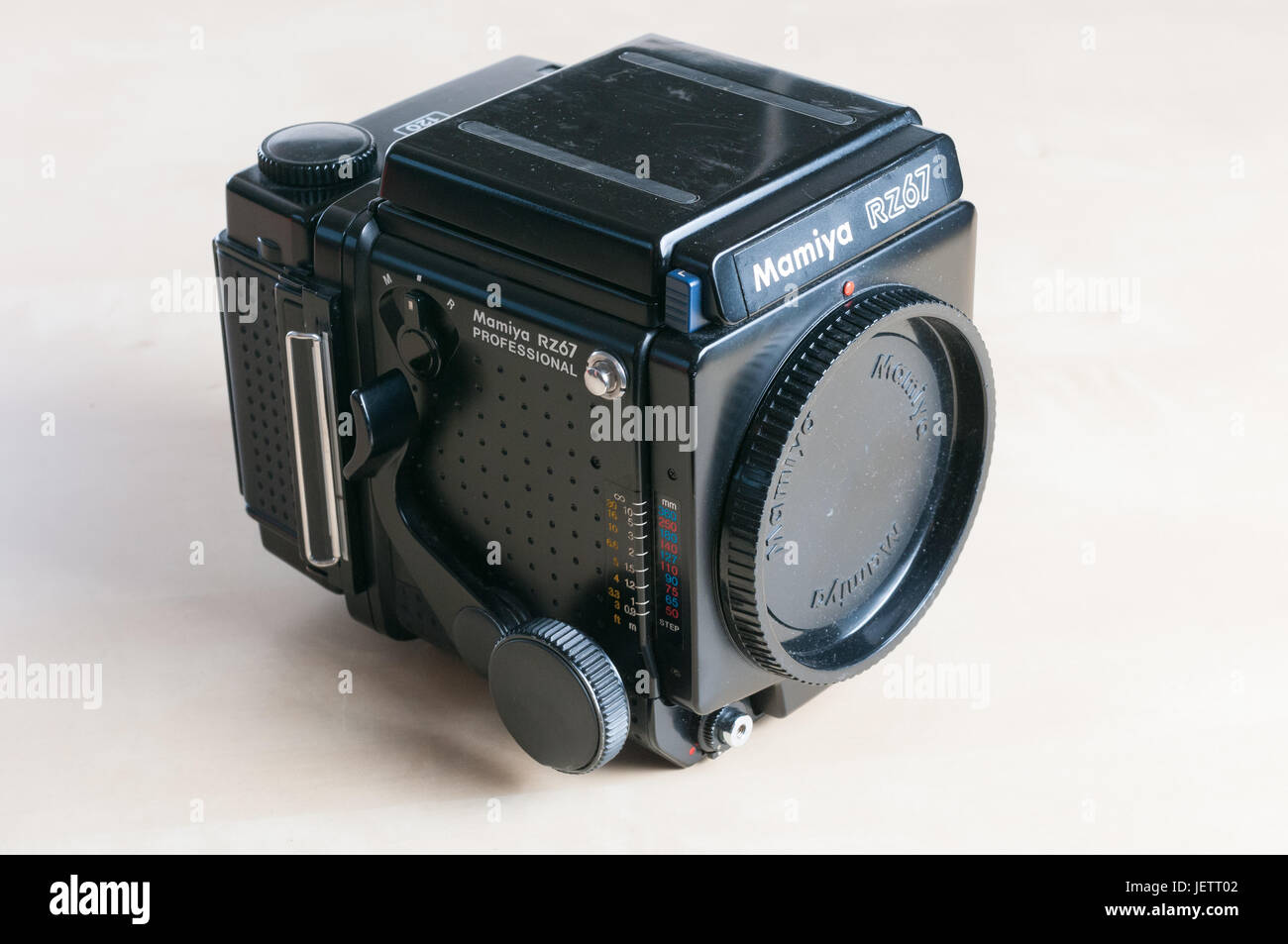 Mamiya RZ67 Medium Format Film Camera Stock Photo: 146833794 - Alamy