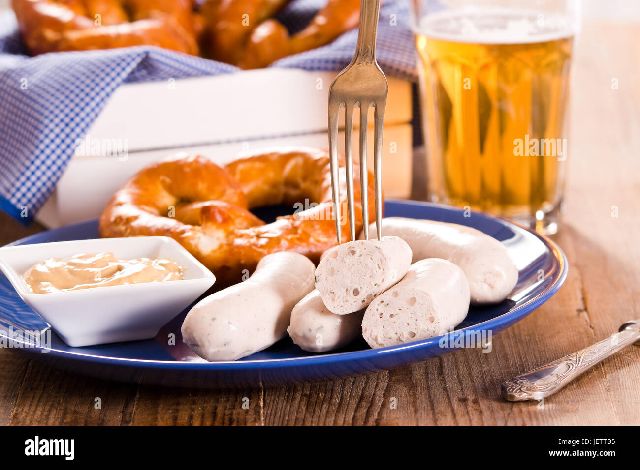 Bavarian pretzels. Stock Photo