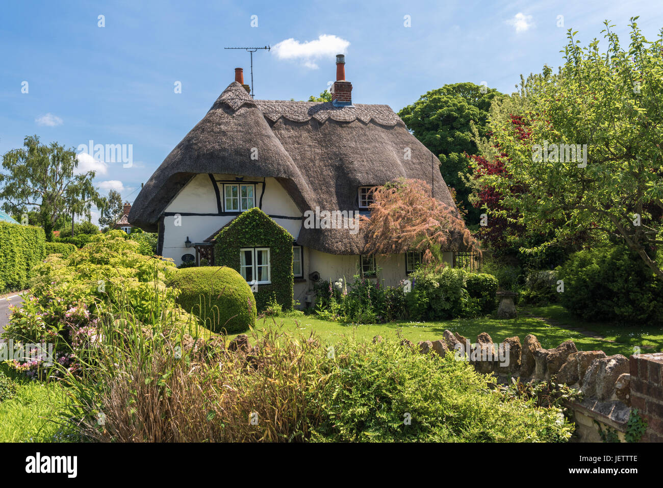 West Hagbourne, Oxfordshire, UK - Stock Image