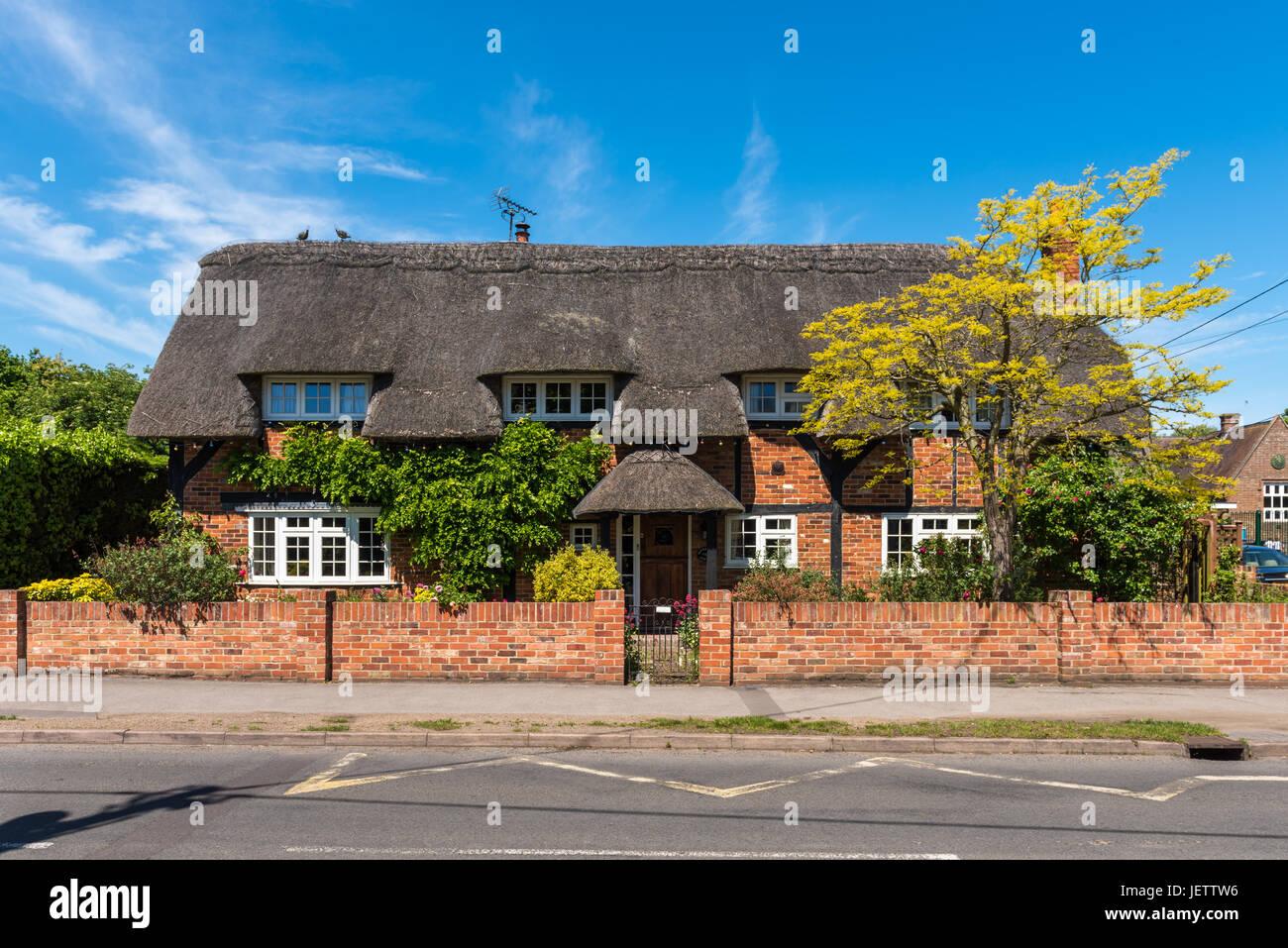 Long Wittenham, Oxfordshire, UK - Stock Image