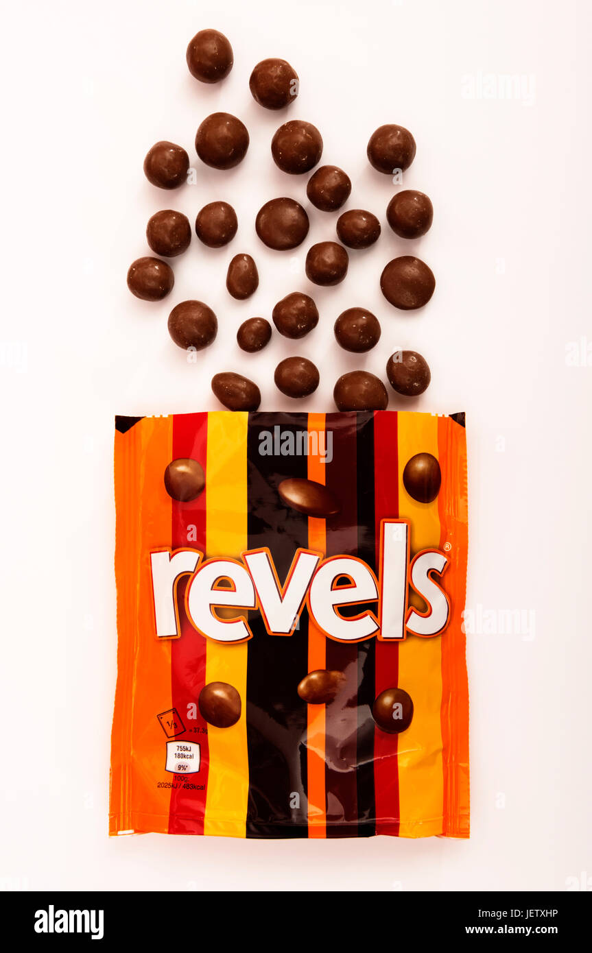 Revels chocolates - Stock Image