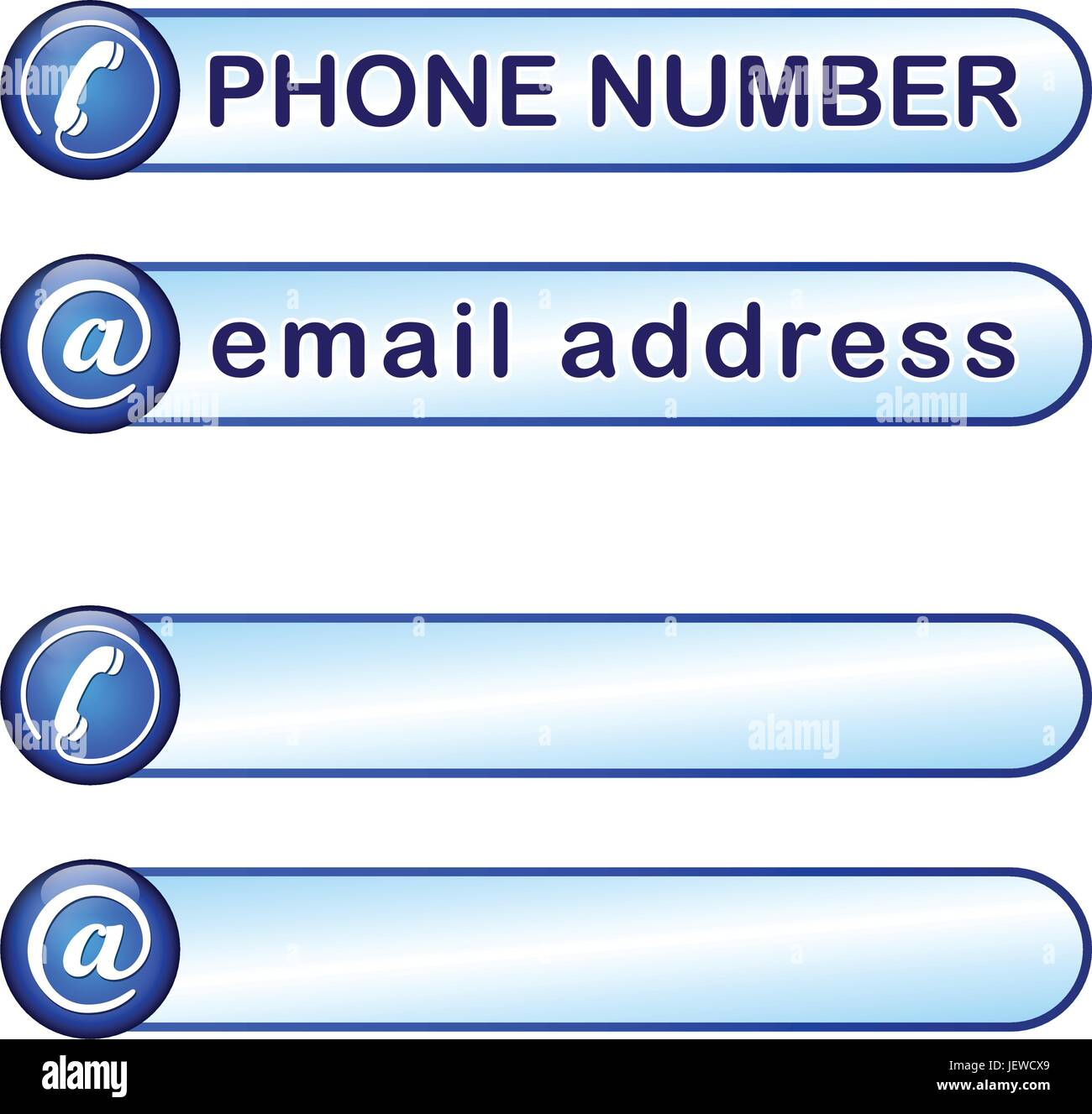 Telephone Phone Call Email Number Icon Pictogram Symbol Stock