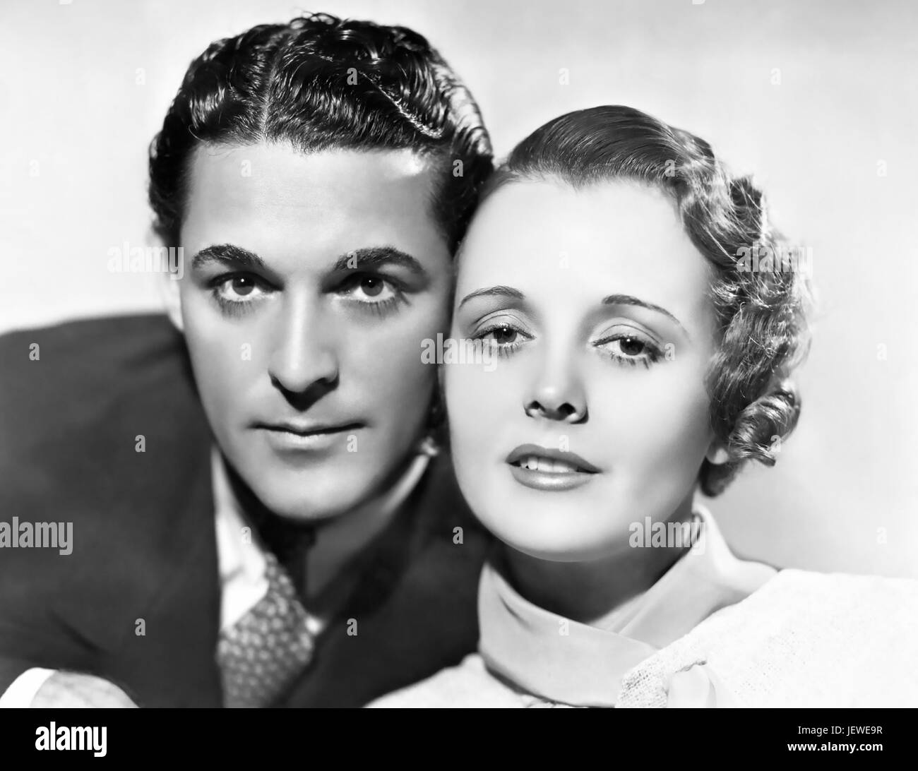 LADY FROM NOWHERE 1936 Columbia film with Mary Astor and Charles Quigley - Stock Image