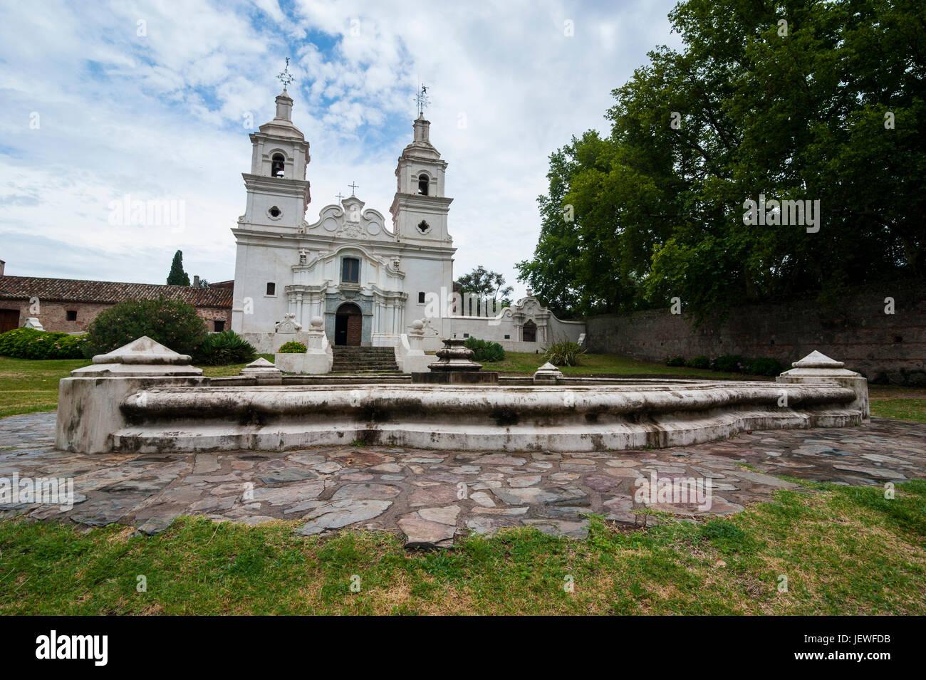 UNESCO World Heritage sight the mission of San Ignacio Mini, Misiones Province, Argentina, South America - Stock Image