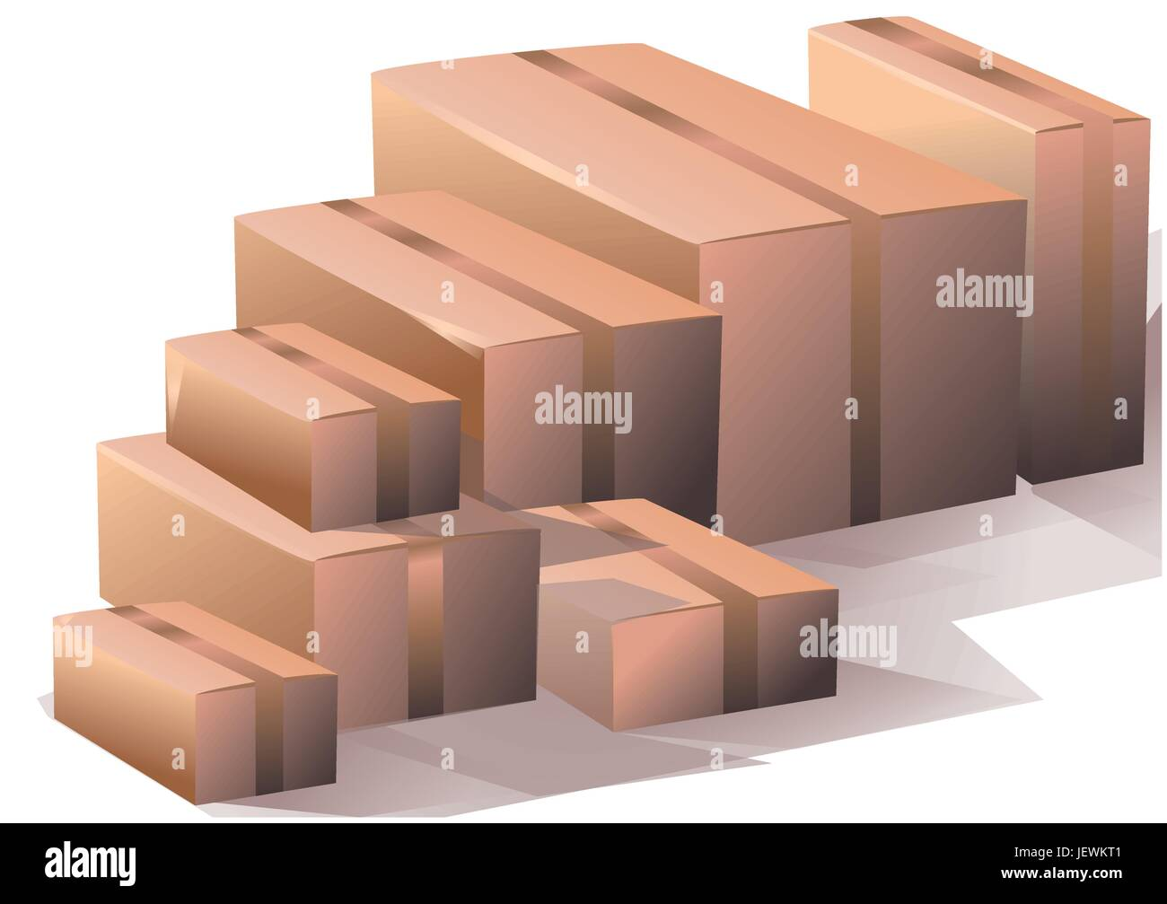compartment, motion, postponement, moving, movement, office, industry, traffic, Stock Vector