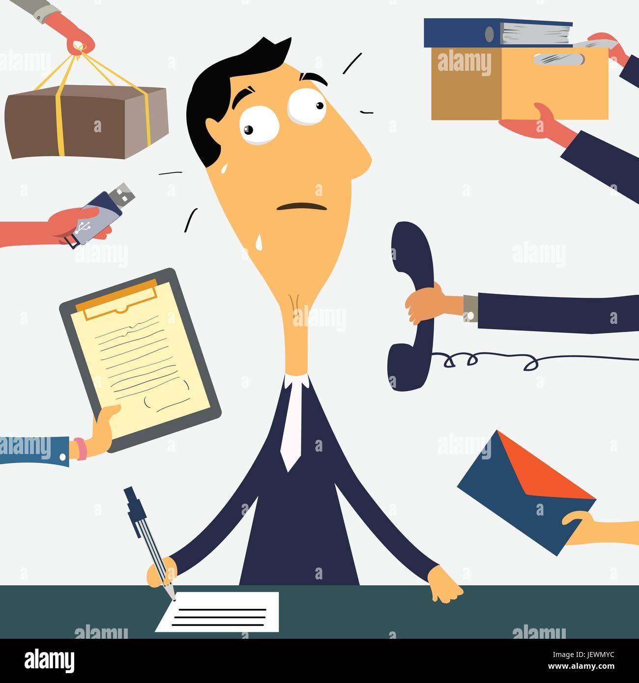 business man businessman - Stock Vector