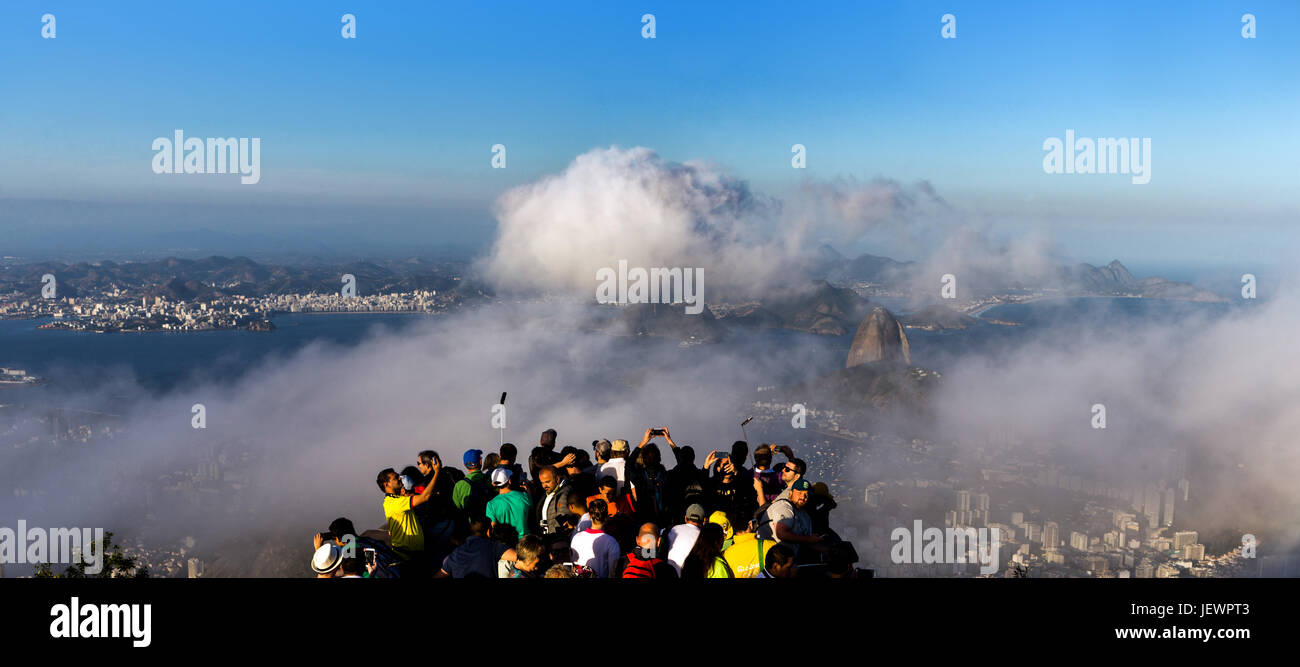 View from Corcovado - Stock Image