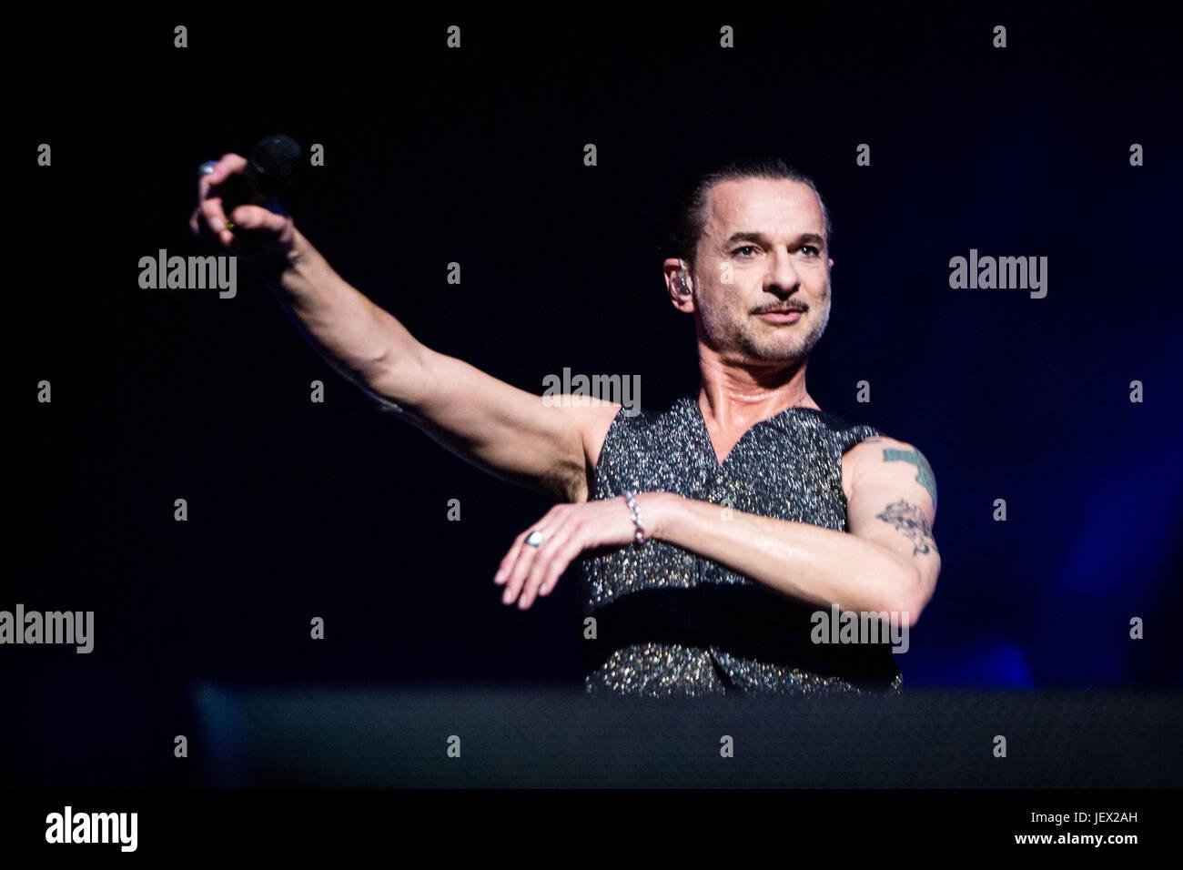 Milan, Italy 27th june Depeche Mode live at San Siro Stadium in Milan © Roberto Finizio / Alamy Live News Stock Photo