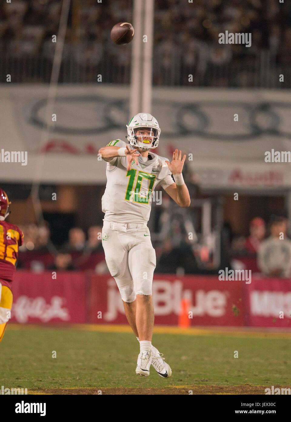 Los Angeles Ca Usa 05th Nov 2016 Oregon Ducks Freshman Stock Photo Alamy