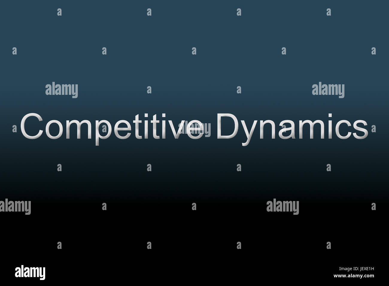 Competitive Dynamics concept - Stock Image