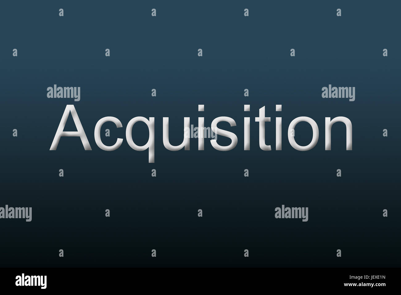 Acquisition Concept - Stock Image