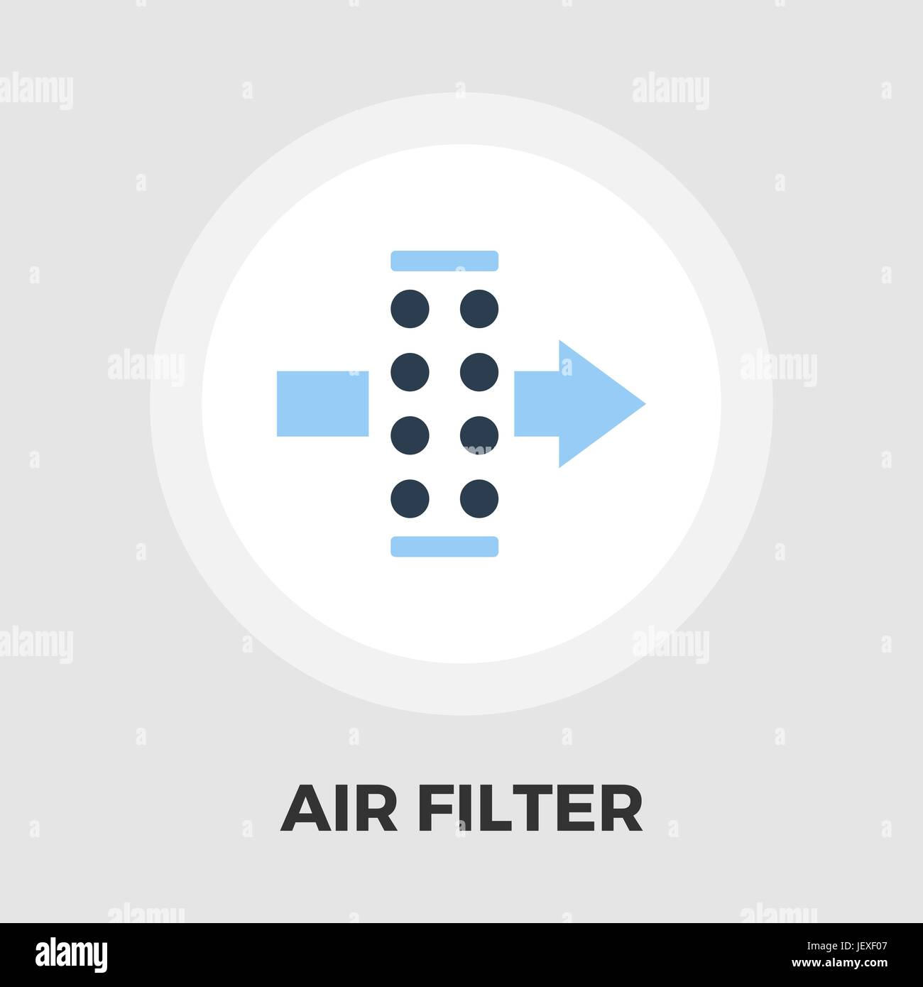 Filter icon flat