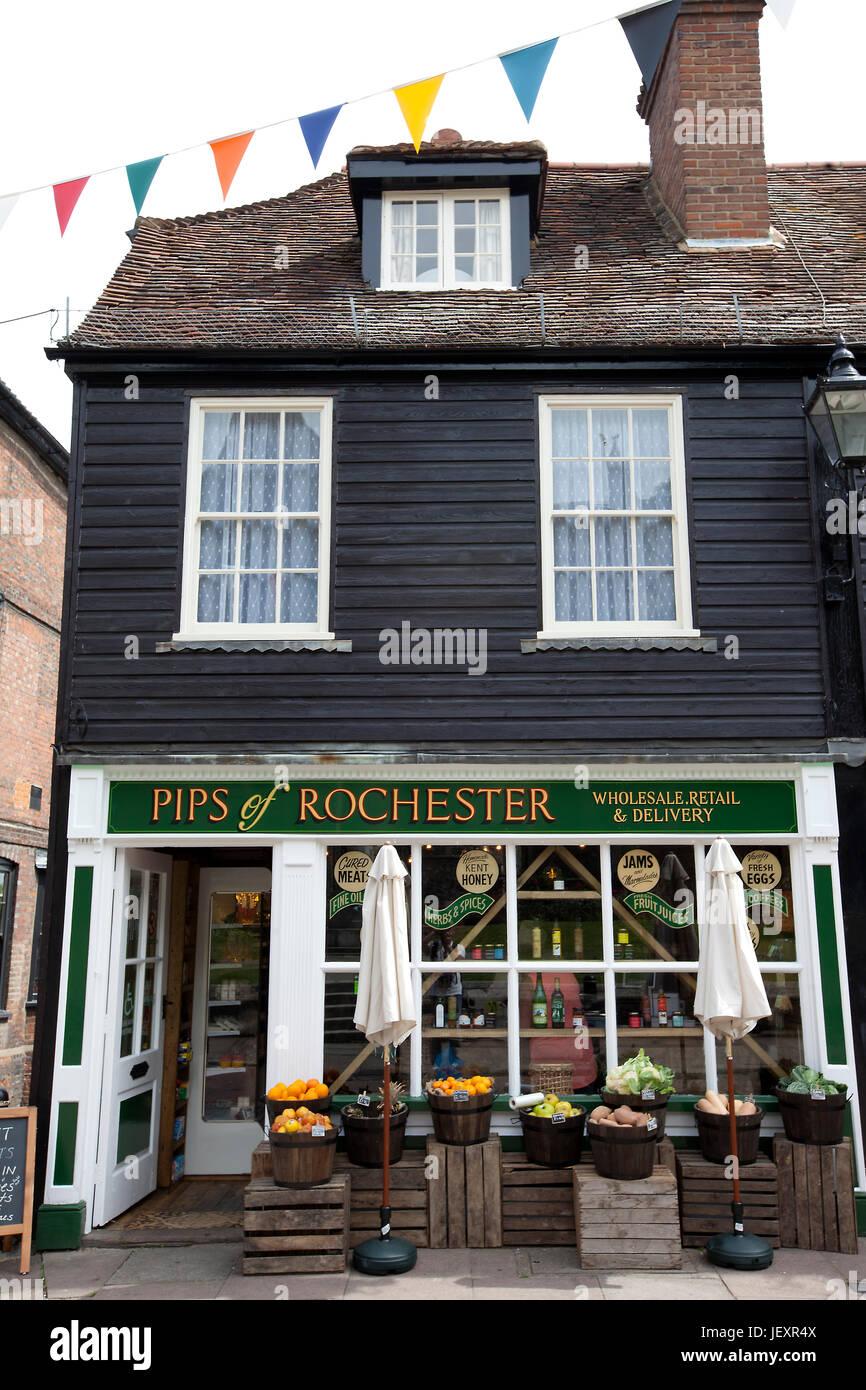 Rochester, Kent, UK - Stock Image