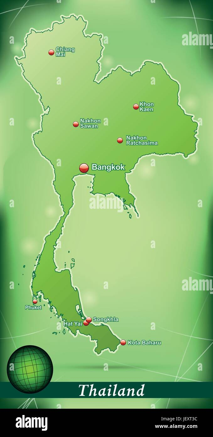 model, design, project, concept, plan, draft, green, illustration, thailand, - Stock Vector