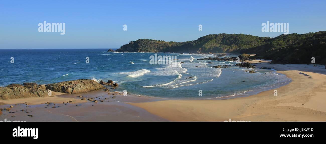 Nobby Beach, Port Macquarie - Stock Image
