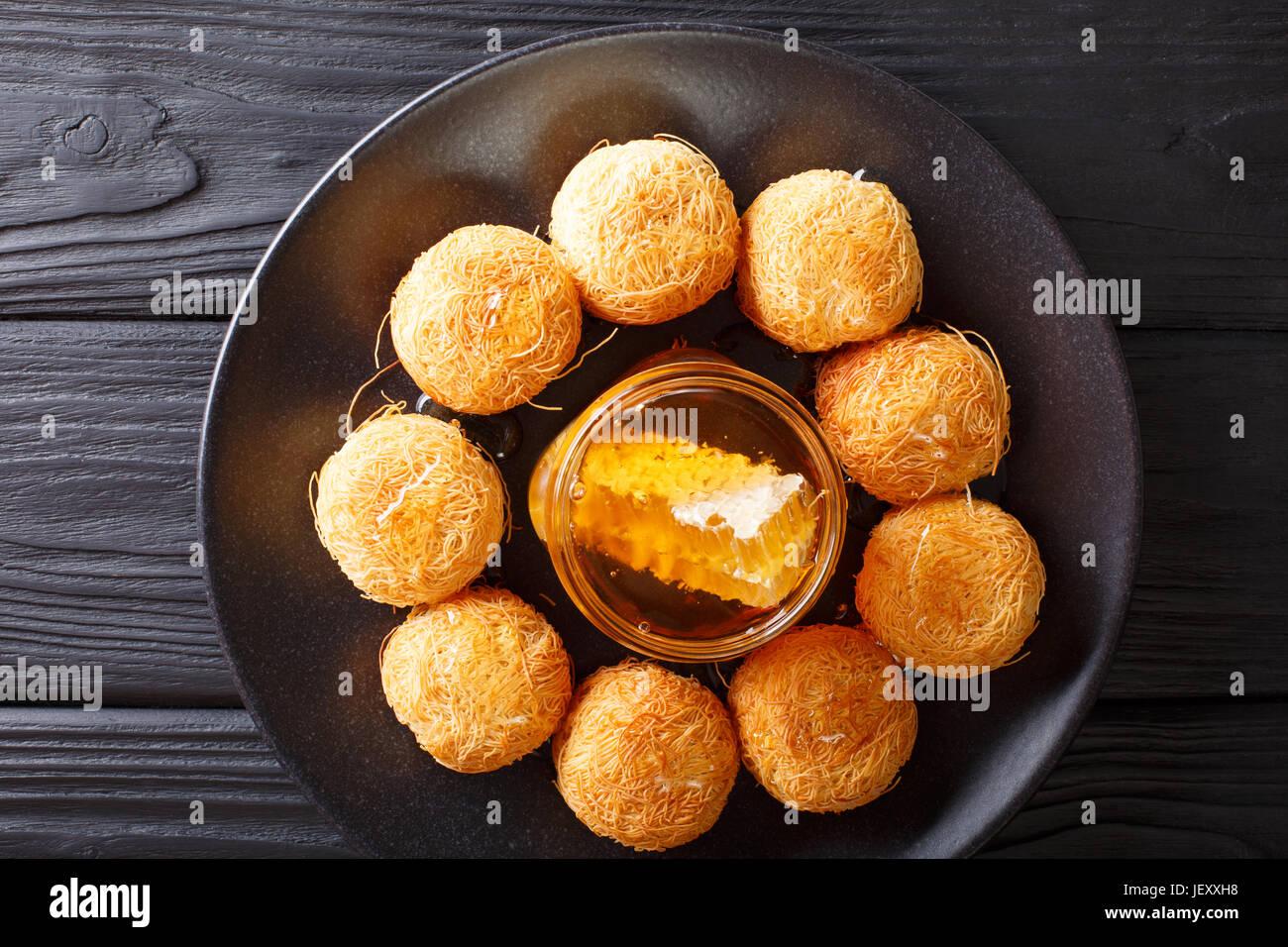 how to make kunafa nabulsi