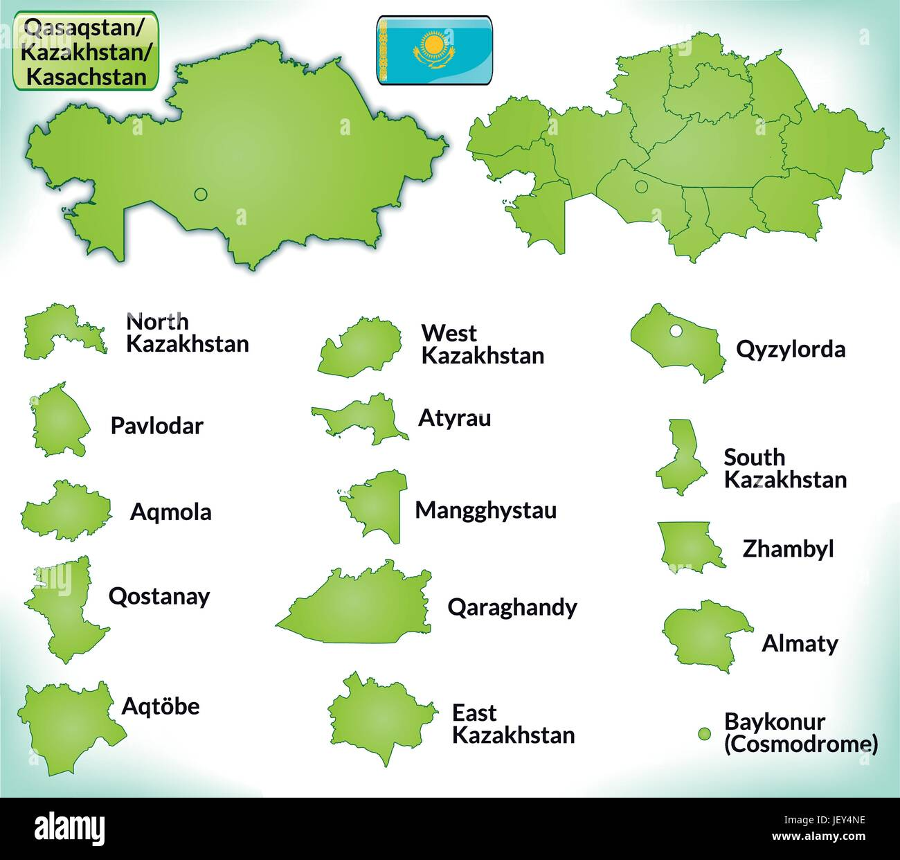 Card outline administration borders state kazakhstan atlas card outline administration borders state kazakhstan atlas map of the publicscrutiny Image collections