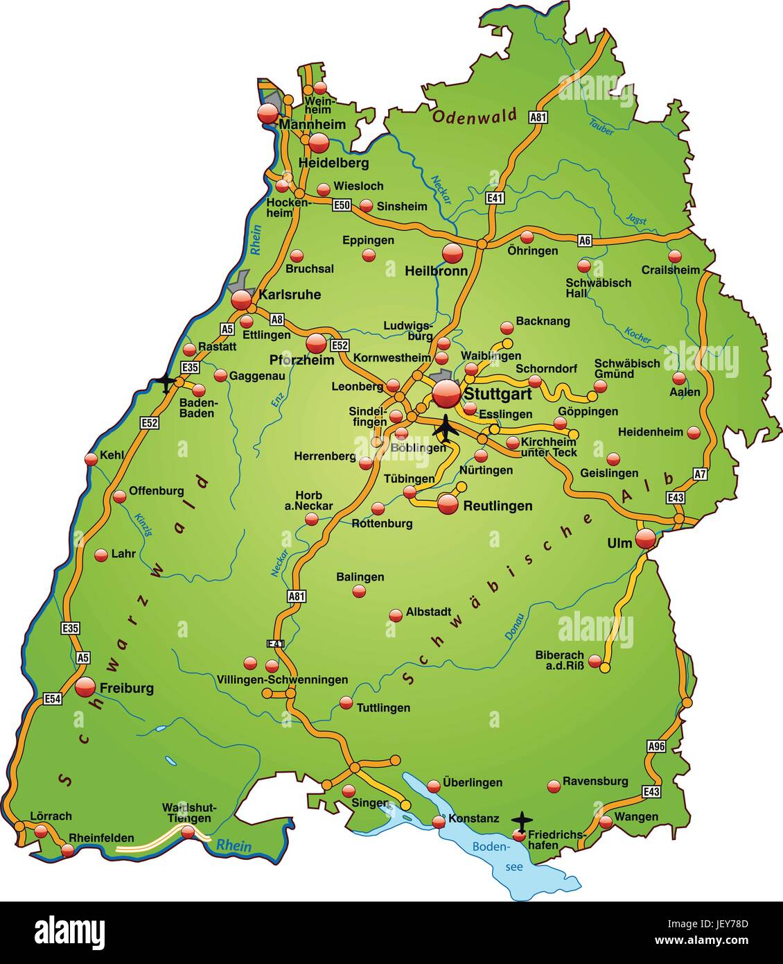 Traffic Transportation Motorway Highway Card State Thruways