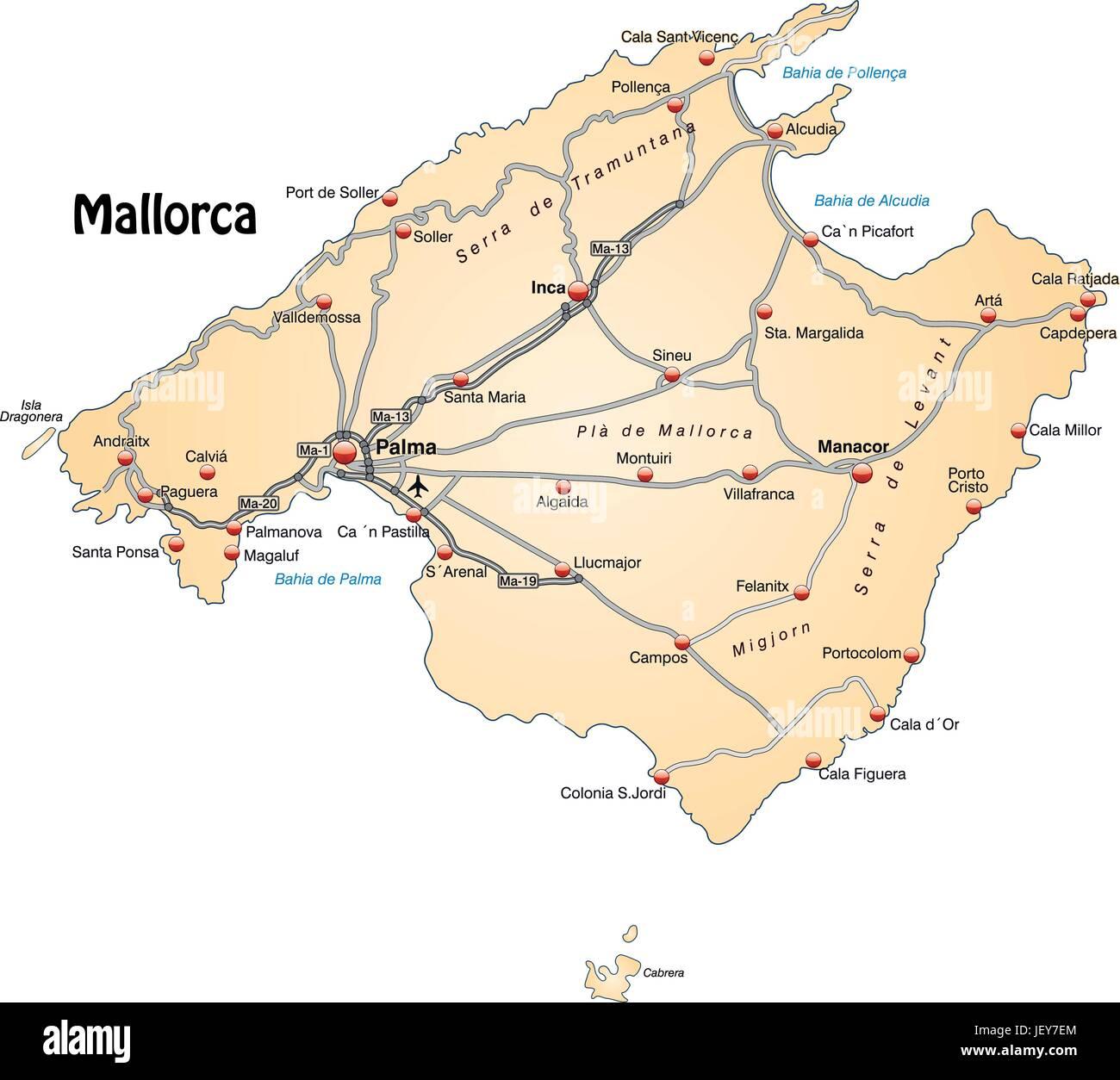 Card atlas map of the world map traffic transportation stock card atlas map of the world map traffic transportation mallorca gumiabroncs Choice Image