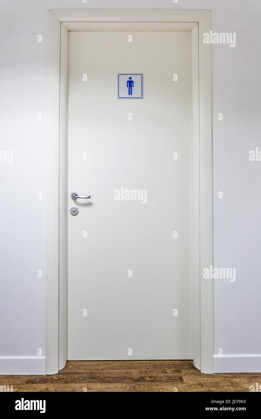 Men Restrooms - Stock Image