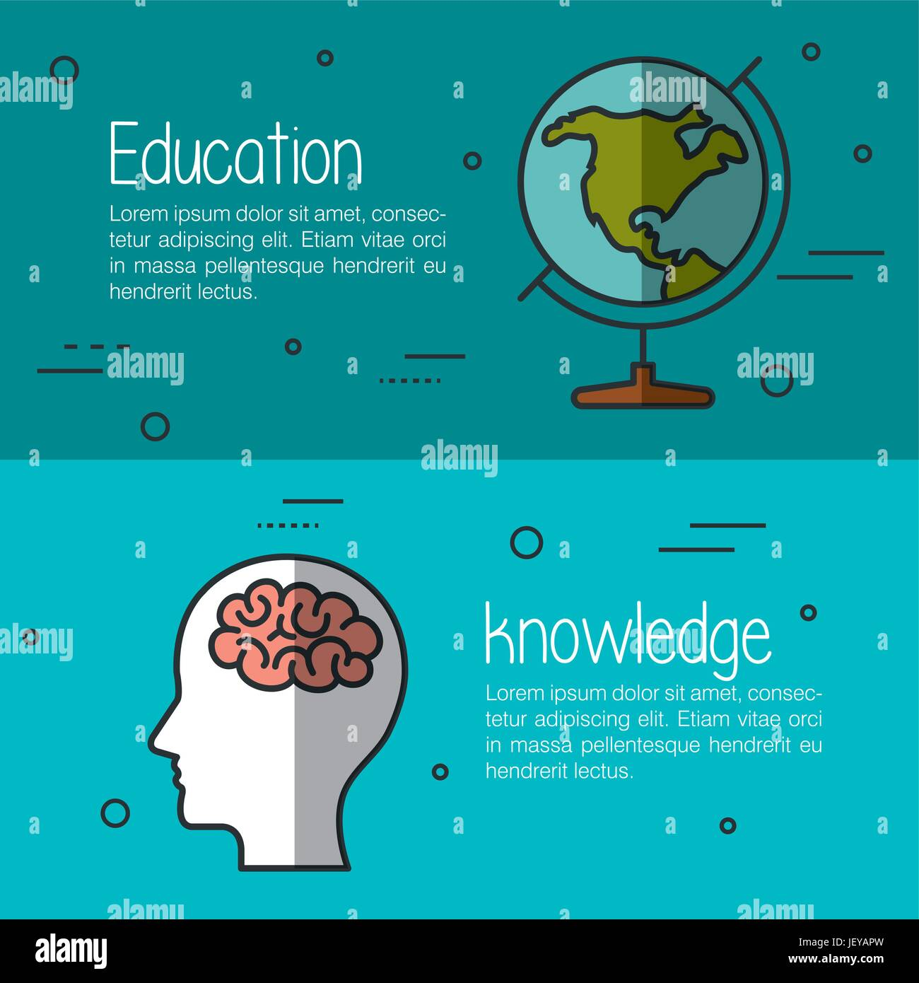 Education related design - Stock Image