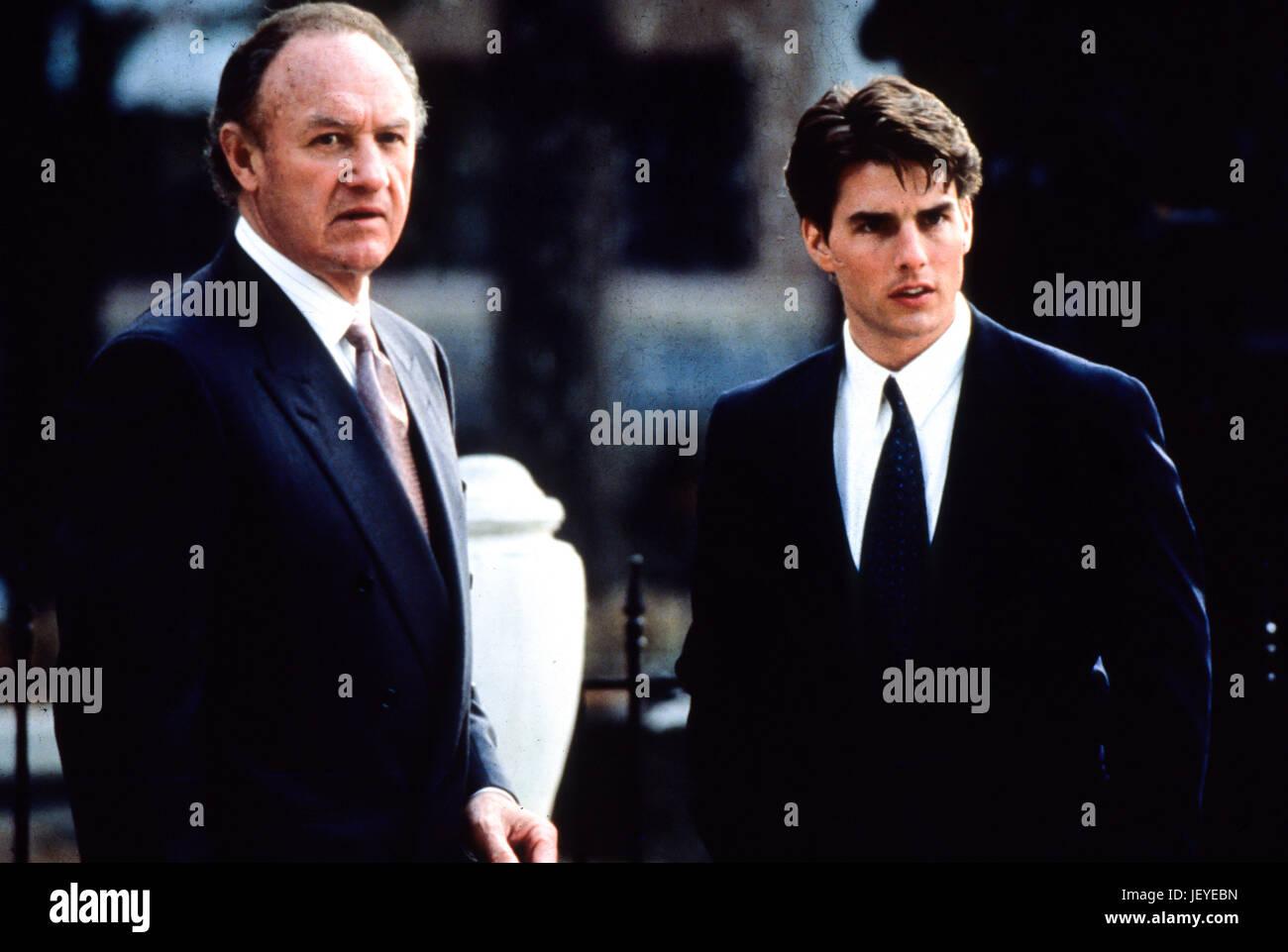 the firm, il socio, 1993, tom cruise, gene hackman - Stock Image