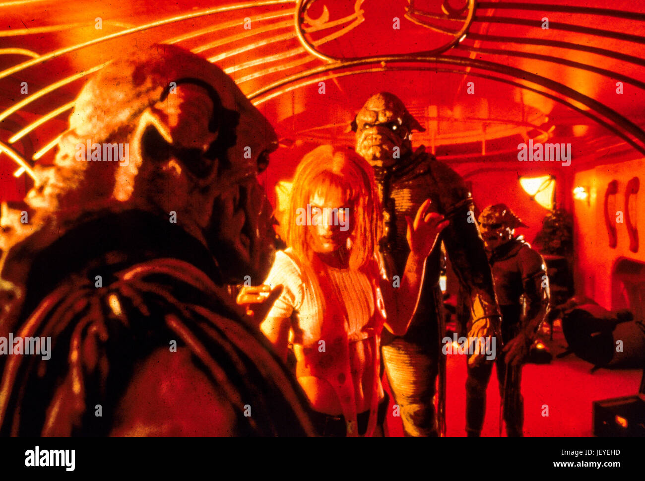 the fifth element, 1997, milla jovovich - Stock Image