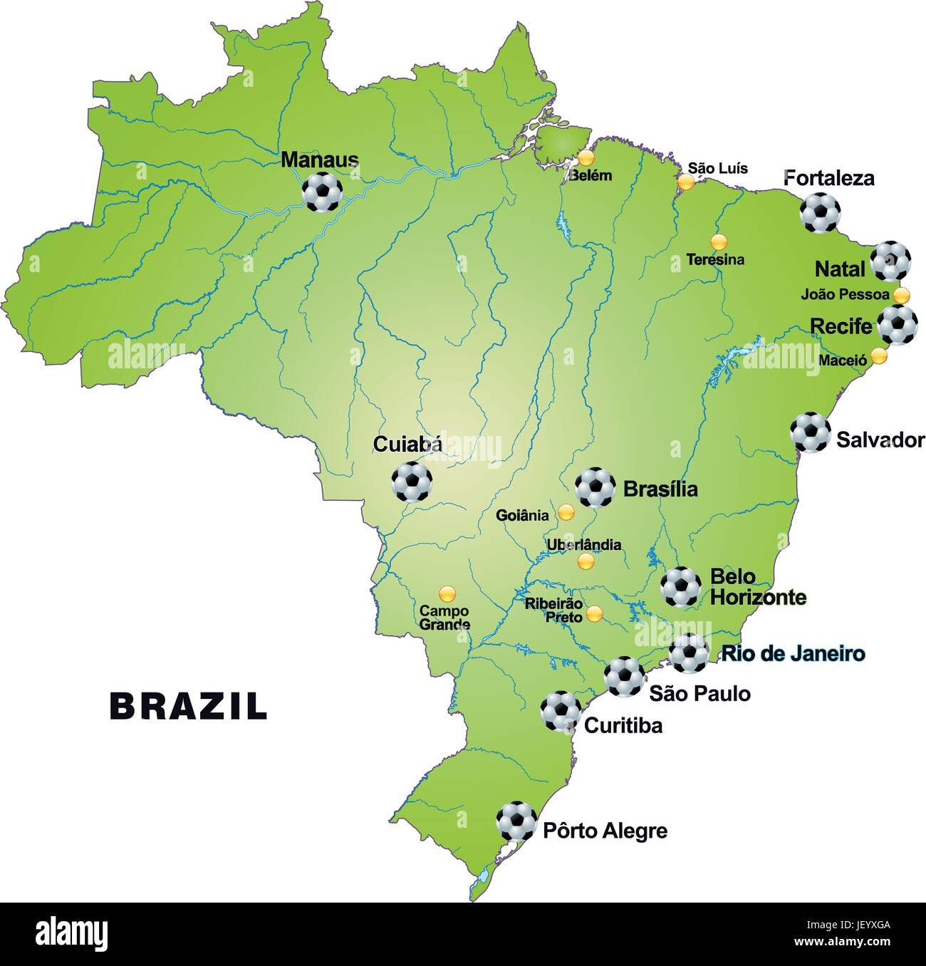 Card, Atlas, Map Of The World, Map, Brazil, Card, Outline, Borders, Atlas,  Map