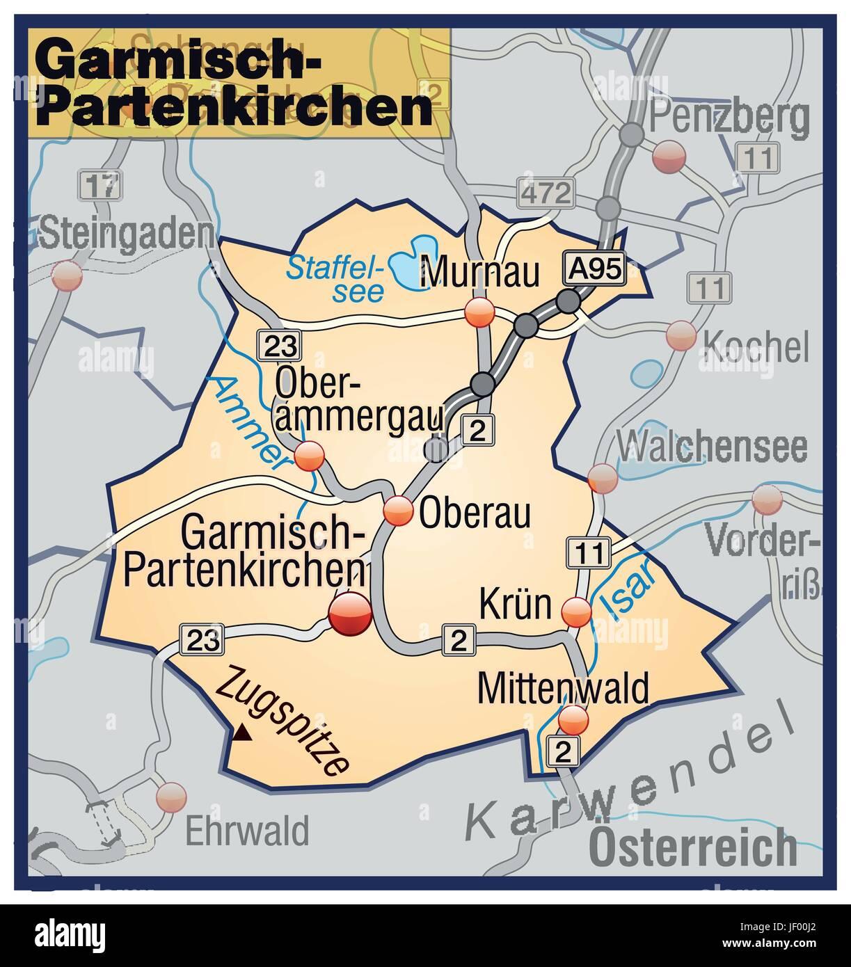 With Garmisch Partenkirchen Stock Vector Images Alamy