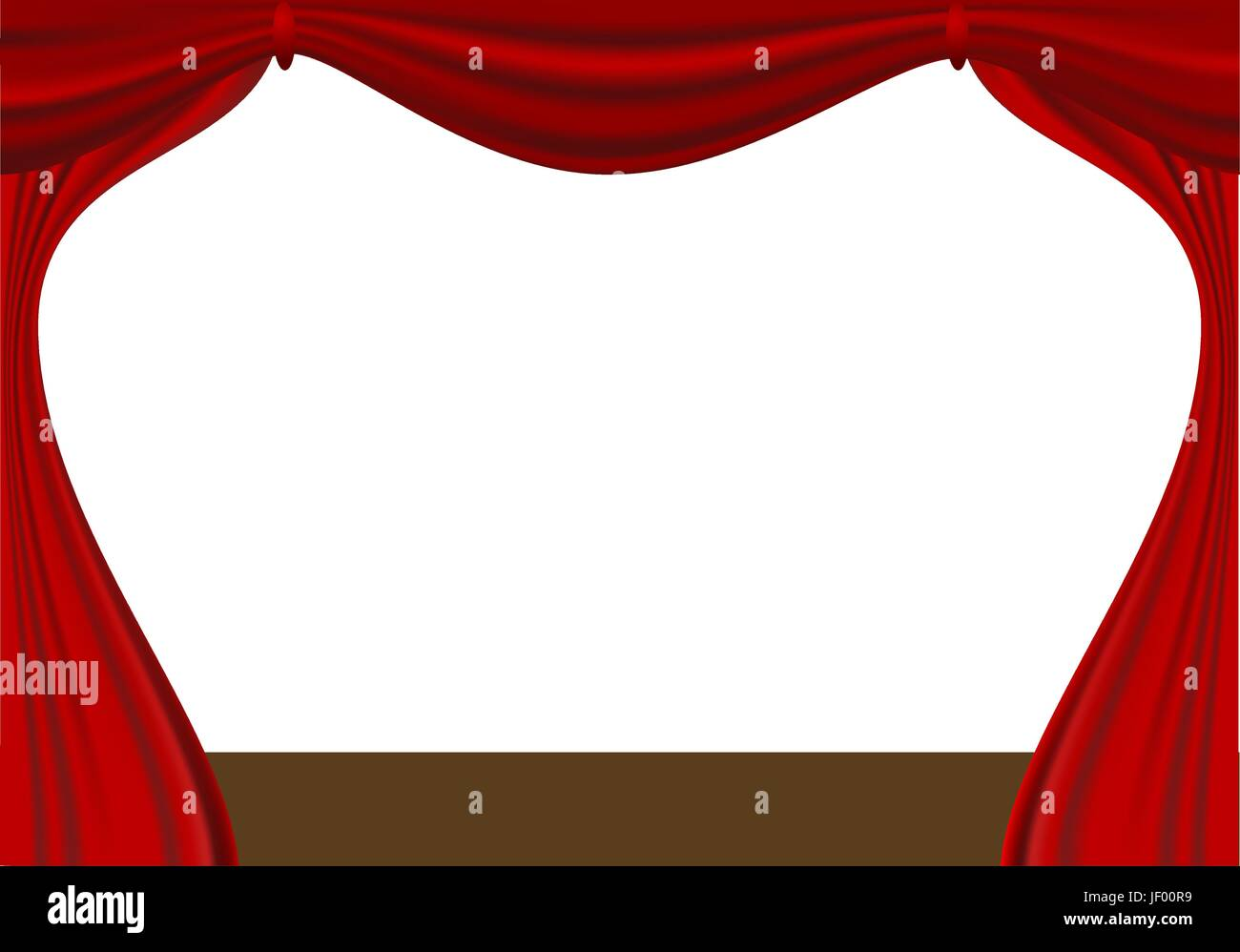 theatre, playhouse, theather, theater, curtain, stage, baldachin, vector, - Stock Vector