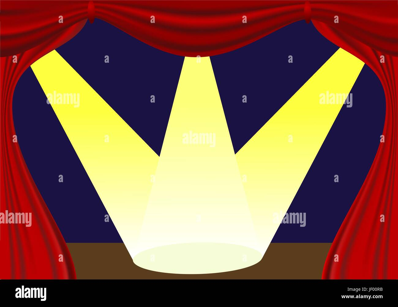 ray, curtain, stage, vector, backdrop, background, spotlight, light, indicate, - Stock Vector