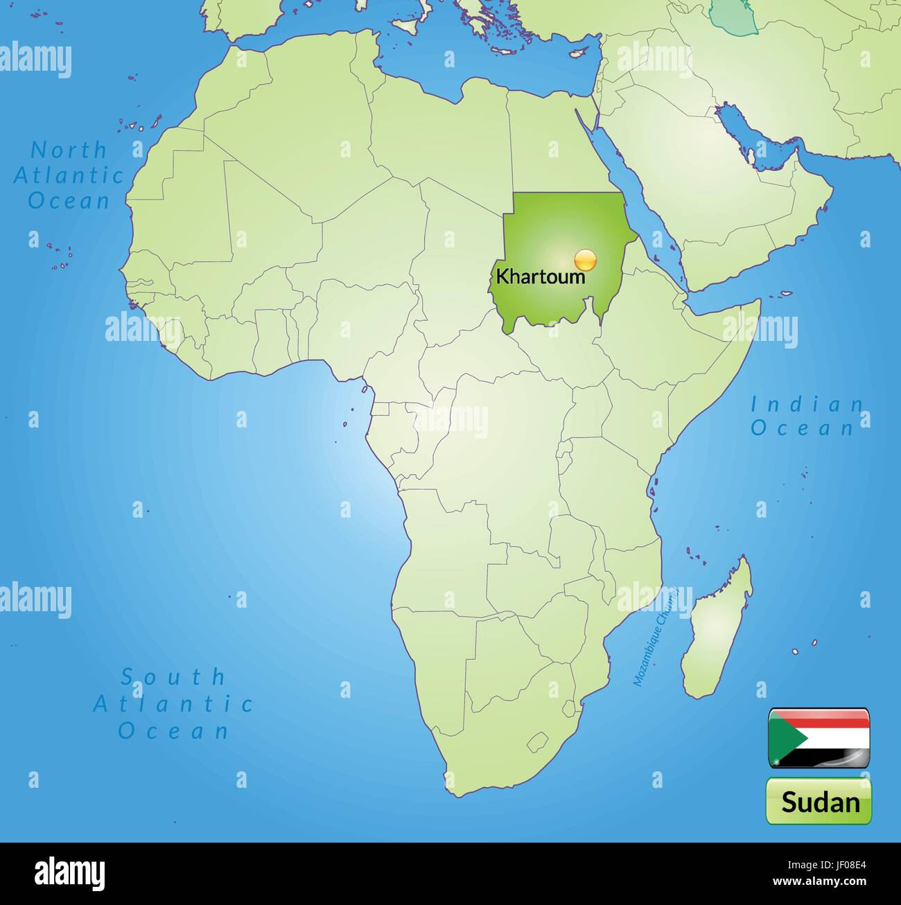Map Of Sudan Stock Photos Map Of Sudan Stock Images Alamy
