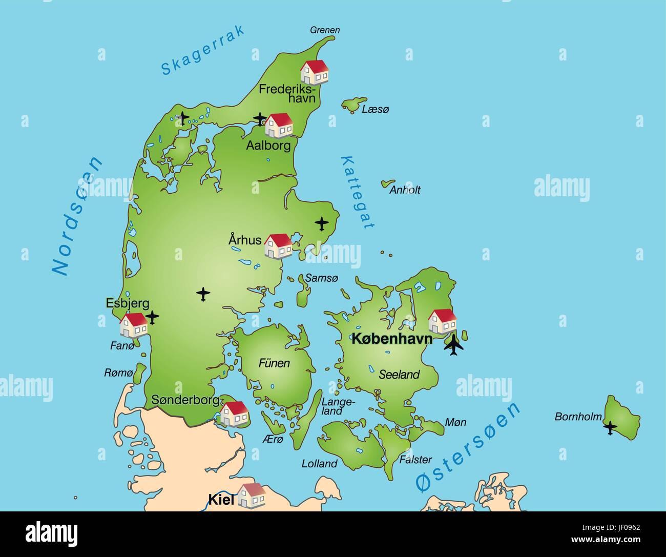 Denmark border card synopsis borders atlas map of the world denmark border card synopsis borders atlas map of the world map gumiabroncs Images