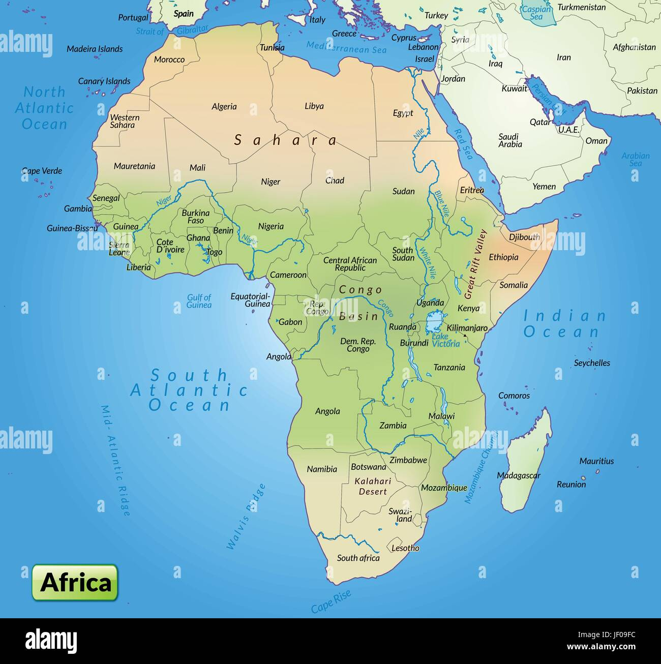 card, atlas, map of the world, map, africa, border, card, synopsis ...