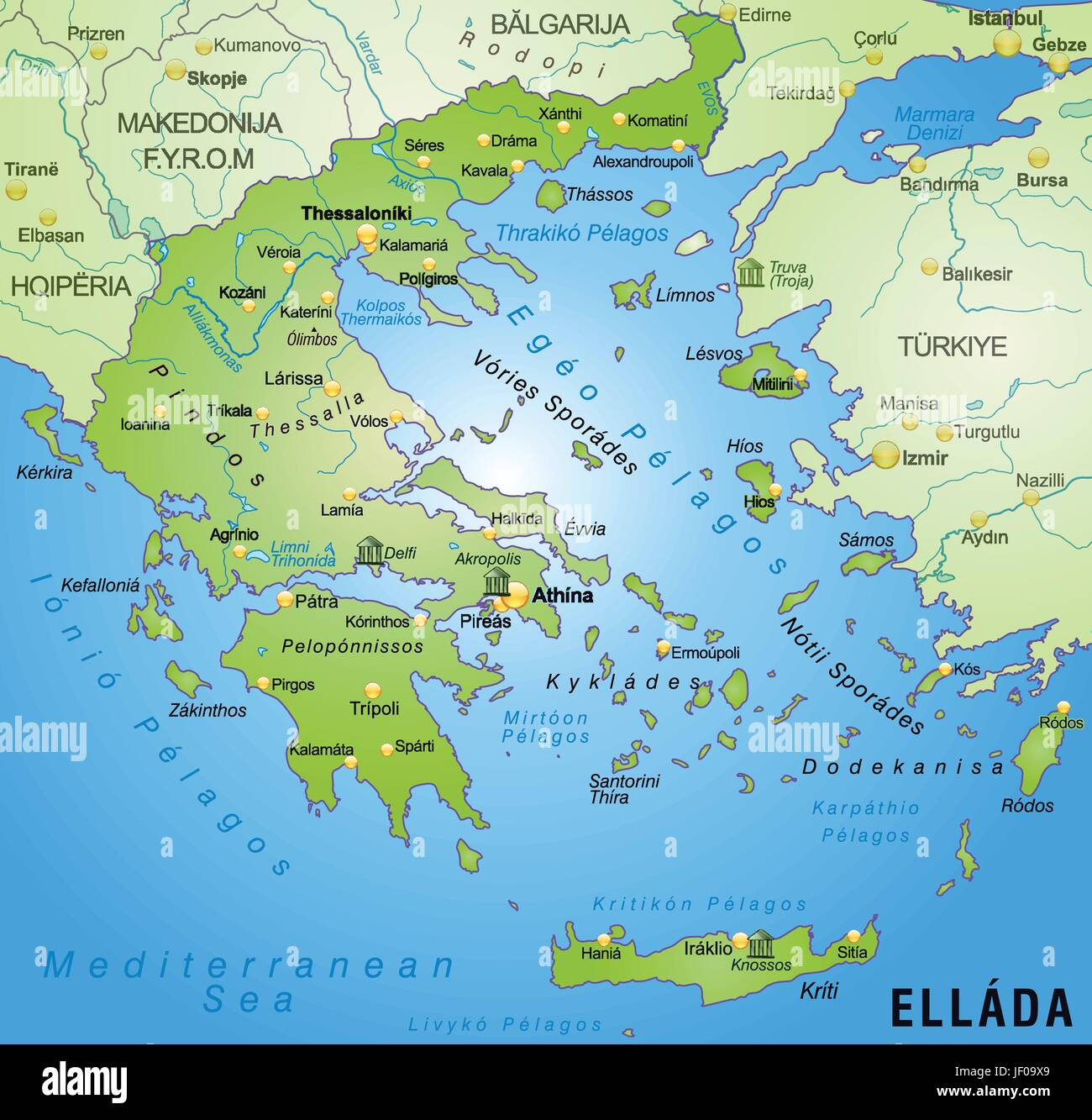 Card atlas map of the world map greece border card synopsis card atlas map of the world map greece border card synopsis borders gumiabroncs Gallery