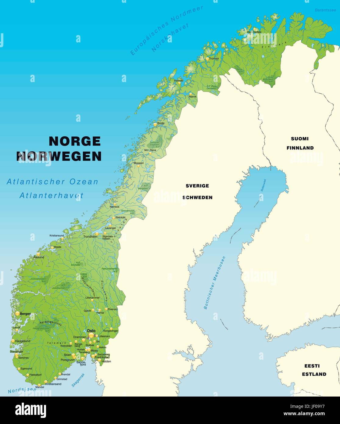 Card Atlas Map Of The World Map Norway Border Card Synopsis