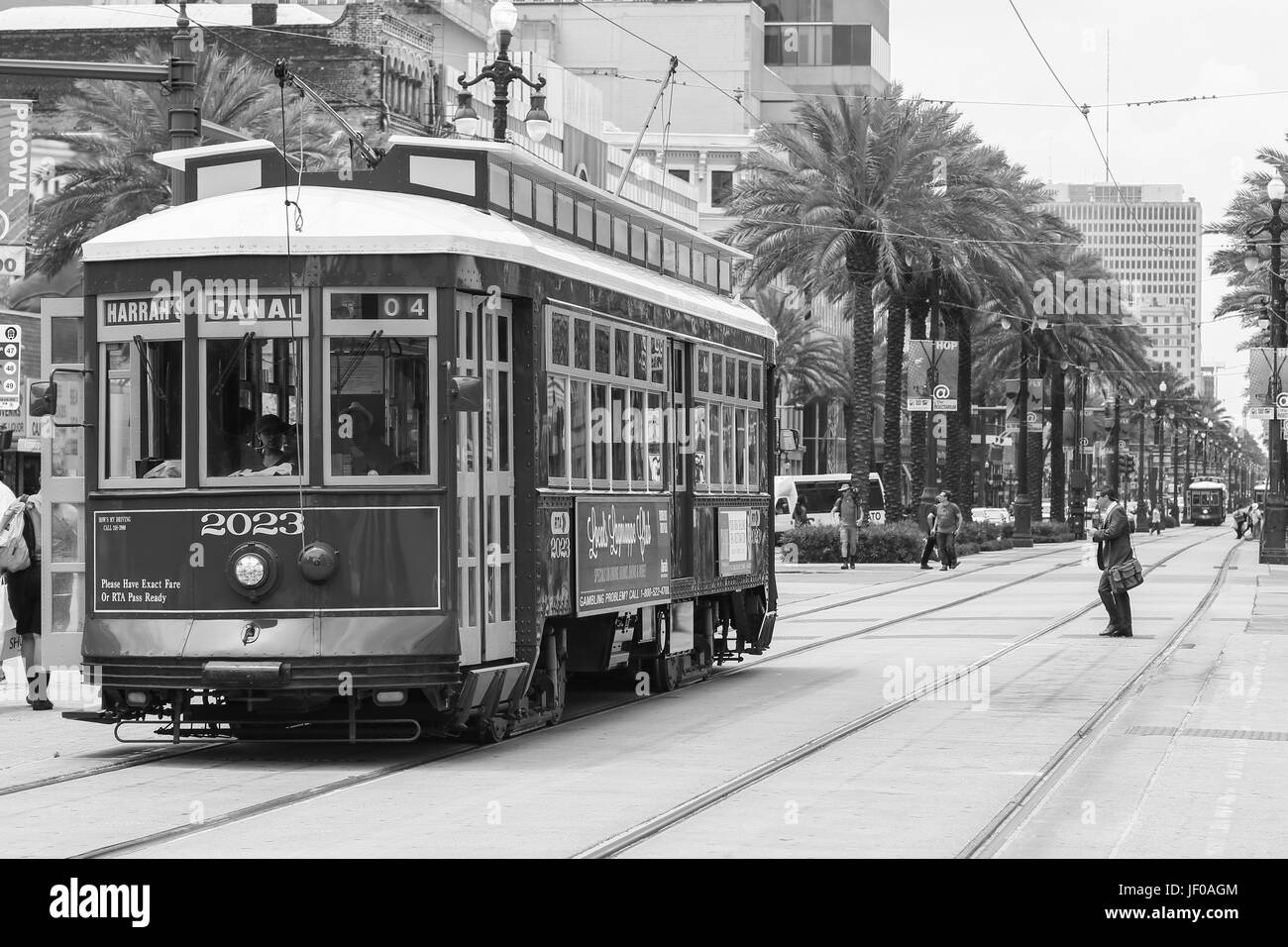 New Orleans Street Cars: New Orleans Streetcar Stock Photos & New Orleans Streetcar
