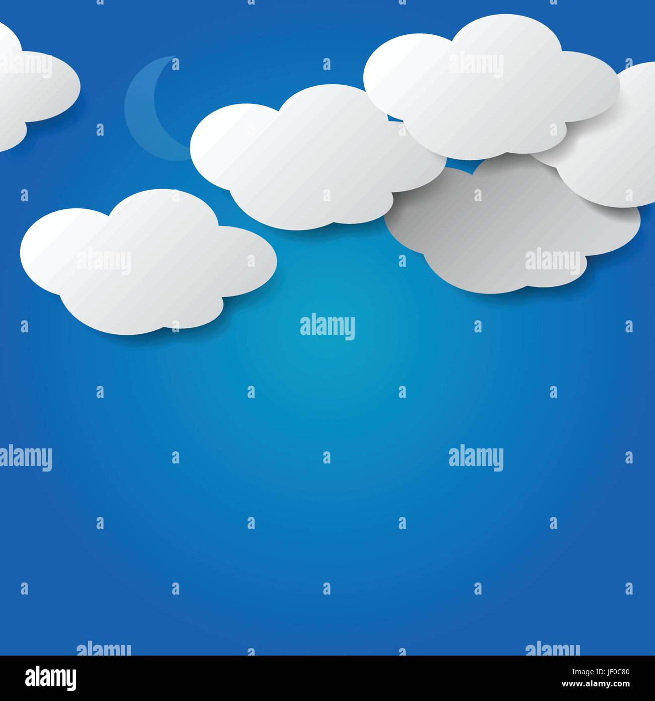 cloud, summer, summerly, square, bubble, date, dating, get to know, firmament, - Stock Vector