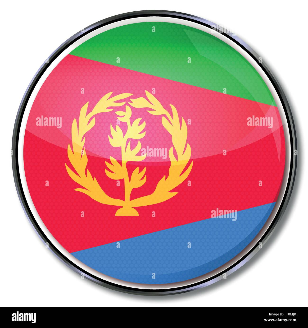 africa, button, eritrea, northeast, salt water, sea, ocean, water, red, plant, - Stock Vector